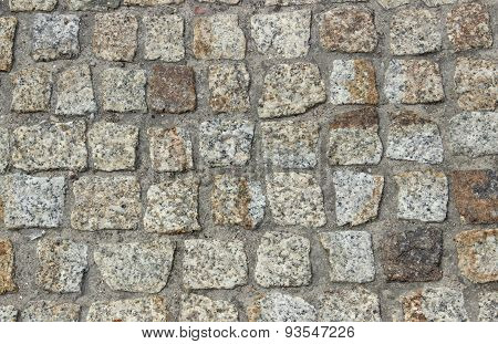 Stone Pavement As Background