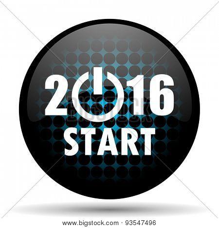 new year 2016 icon new years symbol
