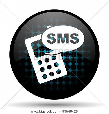 sms icon phone sign