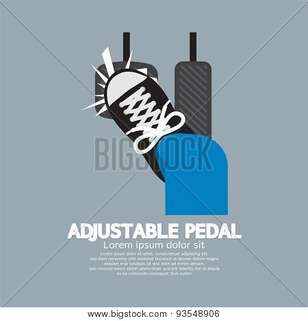 Adjustable Pedal.