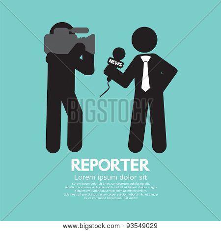 Black Symbol Reporter.