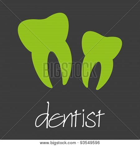 Dentist Tooth Design Banner And Background Eps10