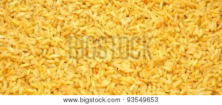 Cooked Rice Background