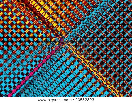 Geometrical Background. Collection - Cells. Artwork For Creative Design