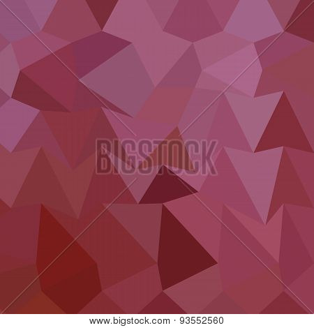 Antique Fuchsia Abstract Low Polygon Background