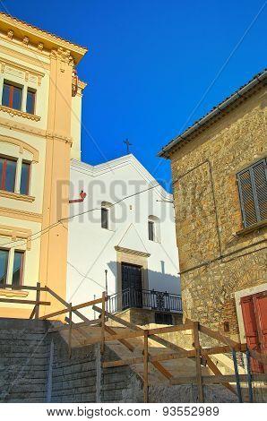 Alleyway. Bovino. Puglia. Italy.