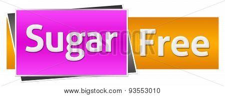Sugar Free Pink Orange Horizontal