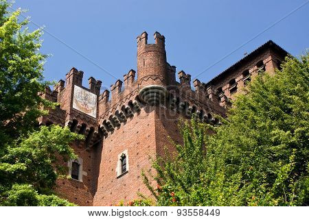 Medieval Village In Turin, Italy