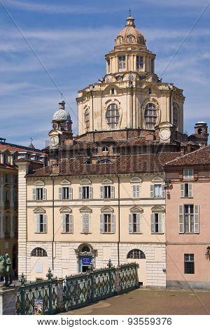 The Church Of San Lorenzo, Turin