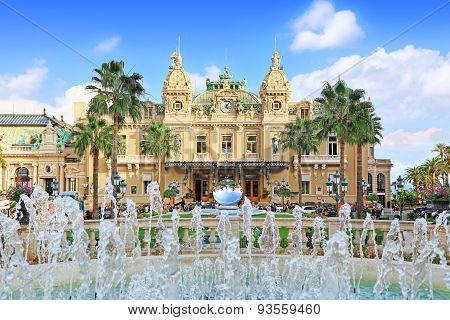 Grand Casino in Monte Carlo, Monaco