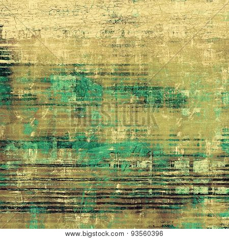 Grunge retro vintage texture, old background. With different color patterns: yellow (beige); brown; gray; green