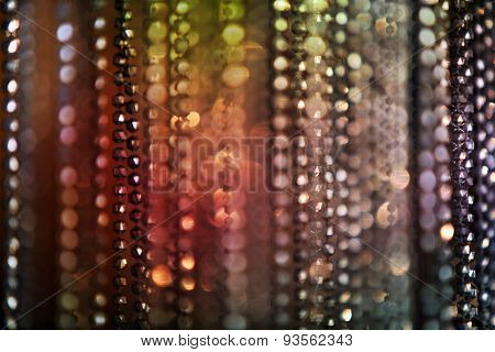 Techno Beads Background