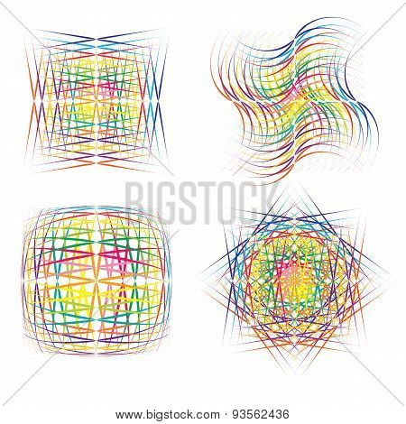 Abstract Colorful   Symbols