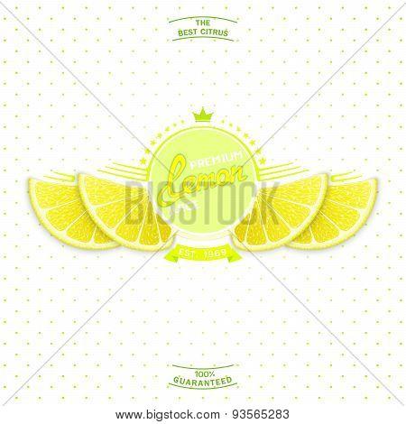 Premium quality lemon juice