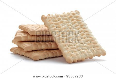 Isolating cookies on white background