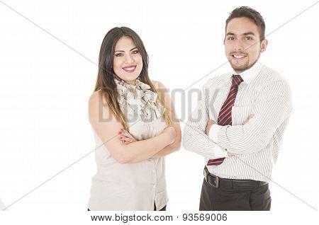 Office couple
