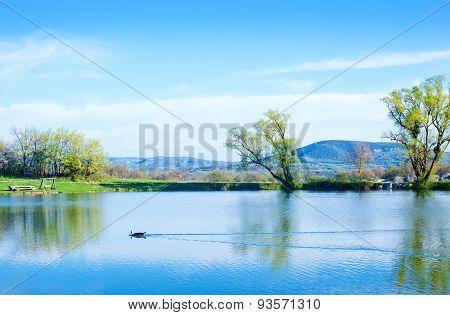 Lake In Crimea