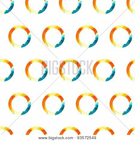 Vector Pattern Watercolor Ring