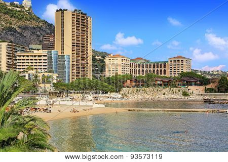 Beaches in Monte Carlo