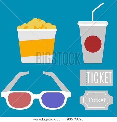 Flat cinema
