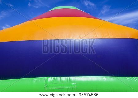 Colors Playground Inflatable Apparatus