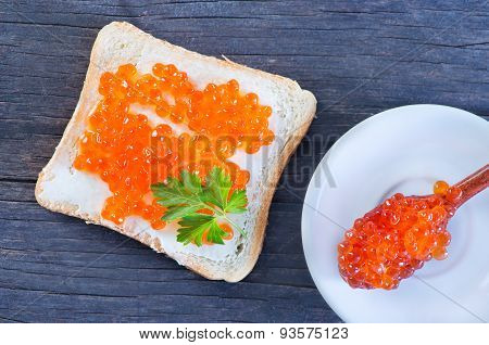 Bread With Caviar