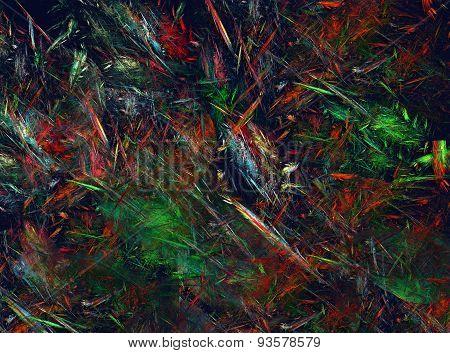 Abstract art mixed media grunge