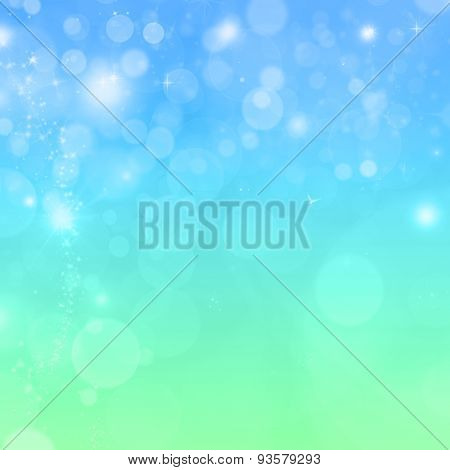 Beautiful Colorful Background With Bokeh Effect