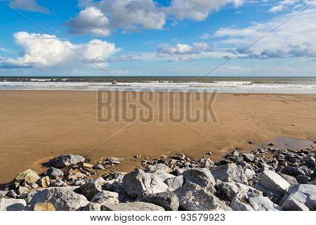 Pendine Sands Carmarthenshire Wales