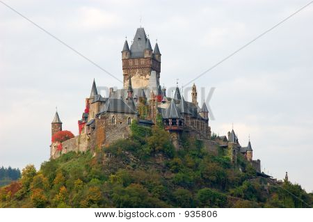 Historic Castle Cochem, Germany