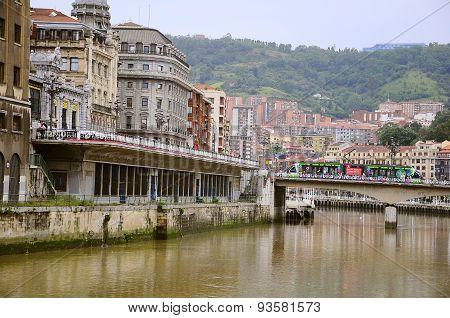 Center Of Bilbao.
