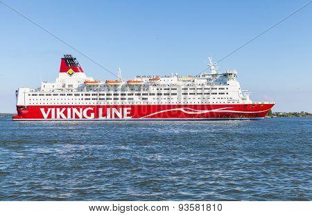 The Finnish Ferry Viking Line Mariella