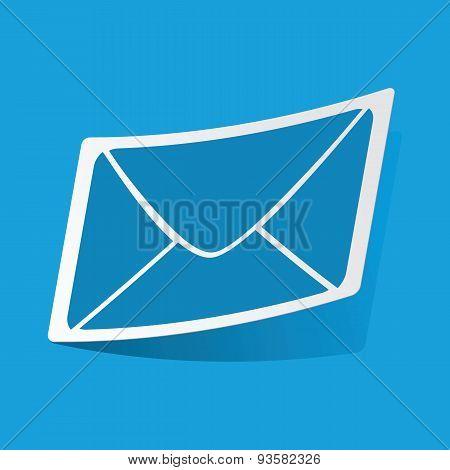 Letter sticker