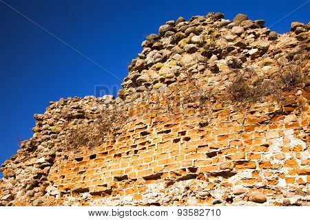 wall ruins