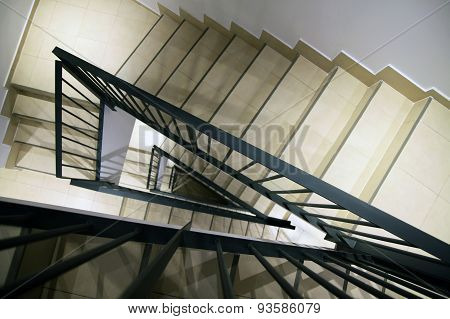 Staircase Inside The House