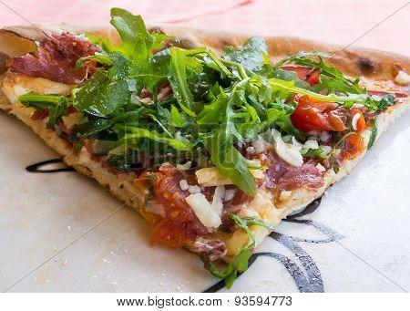 Mediterranean Pizza Front View