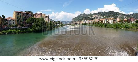 Panoramic View Of Ventimiglia