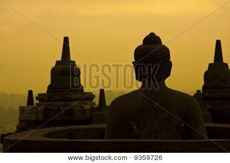 Borobudur sunrise.