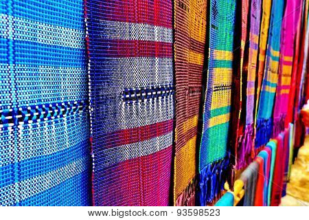 Thai native fabric in Chiangmai