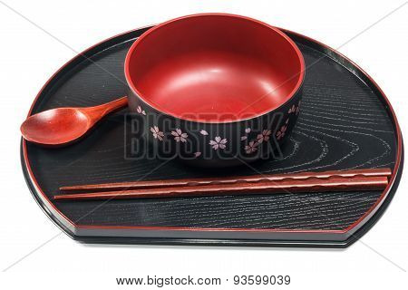 Traditional tableware of Japan