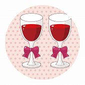 stock photo of champagne color  - Champagne Theme Elements - JPG