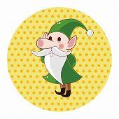 image of elf  - Elf Theme Elements - JPG