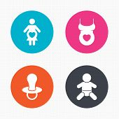 picture of maternity  - Circle buttons - JPG