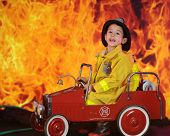picture of fireman  - A preschool  - JPG