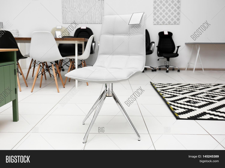 Modern Chair Sale Furniture Store Image Photo Bigstock
