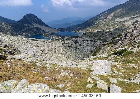 Clouds over Gergiyski lakes,  Pirin Mountain, Bulgaria