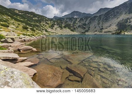 Landscape of Banderishki Chukar Peak and The Fish Lake, Pirin Mountain, Bulgaria