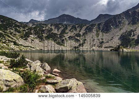 Panorama of Banderishki Chukar Peak and The Fish Lake, Pirin Mountain, Bulgaria