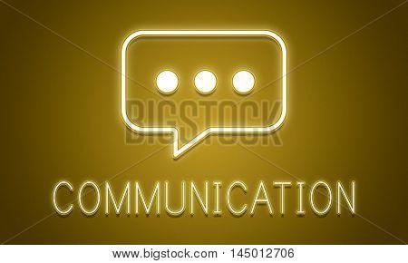Communication Conversation Network Internet Technology Concept