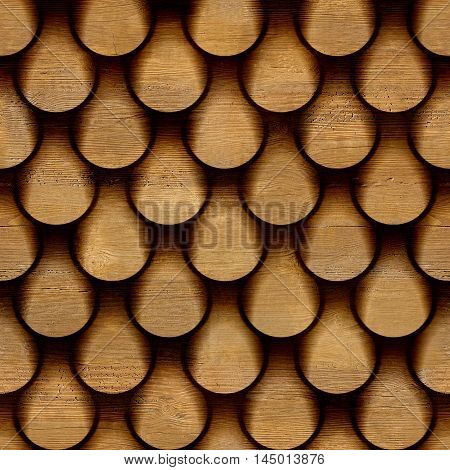 Abstract clippings stacked for seamless background walnut veneer
